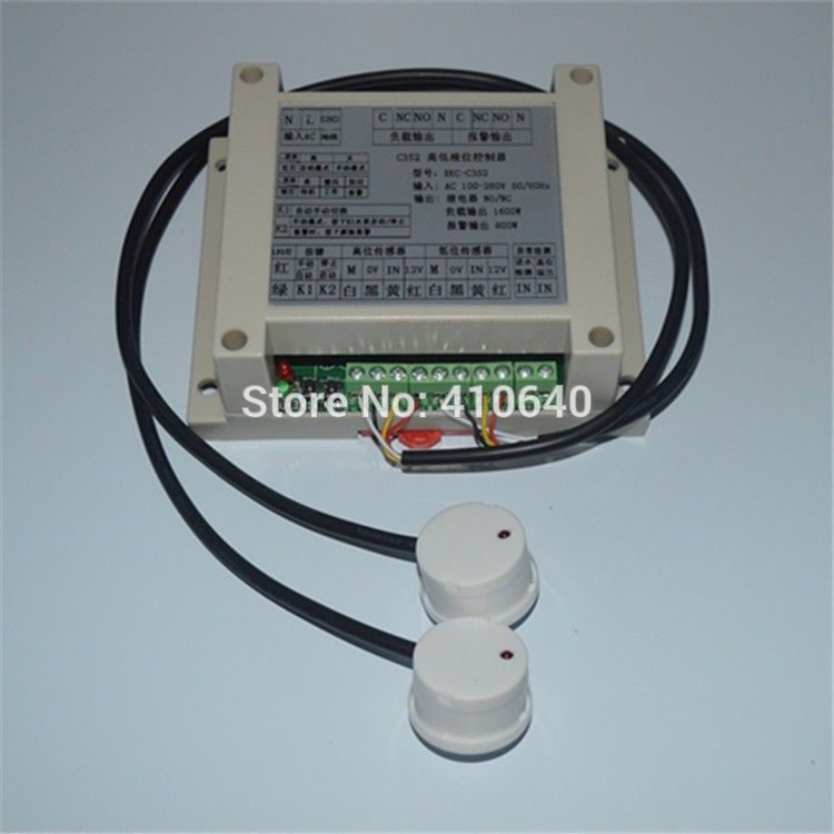 Non Contact Liquid Level Floater Controller Water Tank