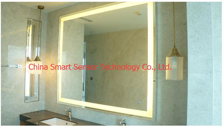 glass lights mirror touch switch specially design for lights on the